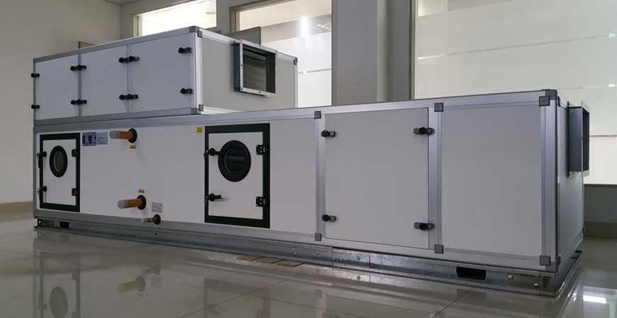 组合式空调机组均流段和送风段